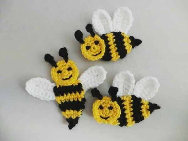 21+ Free Honey Bee Crochet Pattern Background