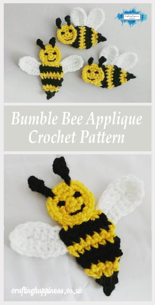 Benevolent Bumble Bee - Free Crochet Pattern on Moogly | 1024x520