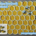 Honeycomb Baby Blanket Pattern by Crafting Happiness FACEBOOK POSTER