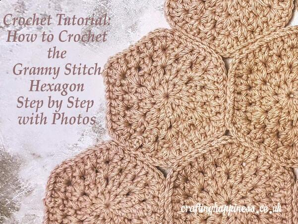 How To Crochet The Granny Stitch Hexagon
