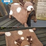 Deer Baby Blanket by Crafting Happiness PINTEREST POSTER 6