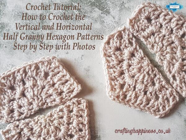 How To Crochet The Vertical And Horizontal Granny Square Tutorial