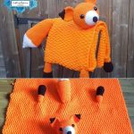 Fox Baby Blanket by Crafting Happiness PINTEREST POSTER 6