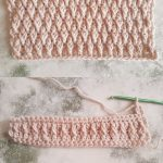 How To Crochet The Alpine Stitch Step By Step Photo And Video Tutorial by Crafting Happiness