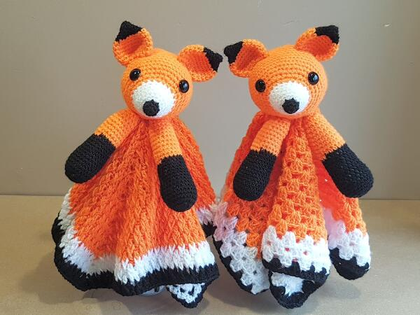 Foxy Fox Baby Blovey Crochet Pattern by Crafting Happiness