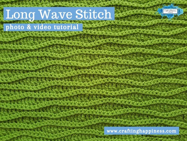 Long Wave Stitch by Crafting Happiness FACEBOOK POSTER