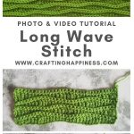 Long Wave Stitch by Crafting Happiness MAIN PINTEREST POSTER 1