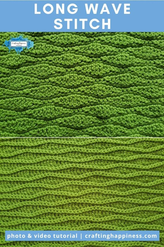 Long Wave Stitch by Crafting Happiness PINTEREST POSTER 6