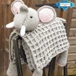 Elephant Baby Blanket by Crafting Happiness PINTEREST POSTER 4