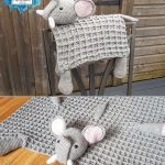 Elephant Baby Blanket by Crafting Happiness PINTEREST POSTER 6