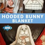 Hooded Bunny Baby Blanket by Crafting Happiness PINTEREST POSTER 5