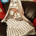 Hooded Bunny Blanket by Crafting Happiness PINTEREST POSTER 4