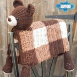 Bear Baby Blanket by Crafting Happiness PINTEREST POSTER 4