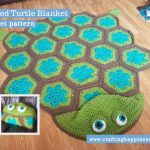 Hooded Turtle Blanket by Crafting Happiness FACEBOOK POSTER