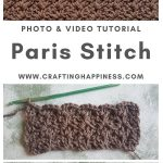 Paris Stitch by Crafting Happiness MAIN PINTEREST POSTER 1