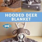Hooded Deer Baby Blanket by Crafting Happiness PINTEREST POSTER 5