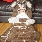 Hooded Deer Blanket by Crafting Happiness PINTEREST POSTER 2