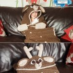 Hooded Deer Blanket by Crafting Happiness PINTEREST POSTER 6