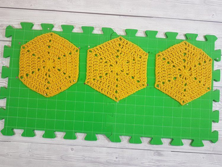 How I Block My Crochet Work