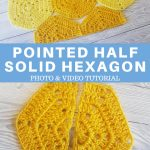 Half Solid Hexagon Pointed Half Easy For Beginners PINTEREST POSTER 1