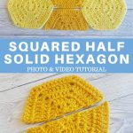 Half Solid Hexagon Squared Half Easy For Beginners PINTEREST POSTER 1