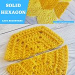 Half Solid Hexagon Squared Half Easy For Beginners Video Tutorial 1