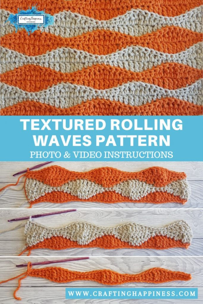 Textured-Rolling-Waves-Stitch-Easy-For-Beginners-PINTEREST-POSTER-2