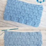 Basketweave Stitch by Crafting Happiness PINTEREST POSTER 6