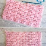 One Row Basketweave Stitch by Crafting Happiness PINTEREST POSTER 6