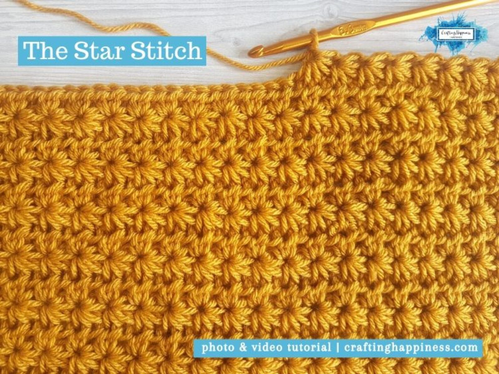 The Star Stitch by Crafting Happiness FACEBOOK POSTER