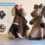 Harry & Harriet Baby Lovey by Crafting Happiness FACEBOOK POSTER