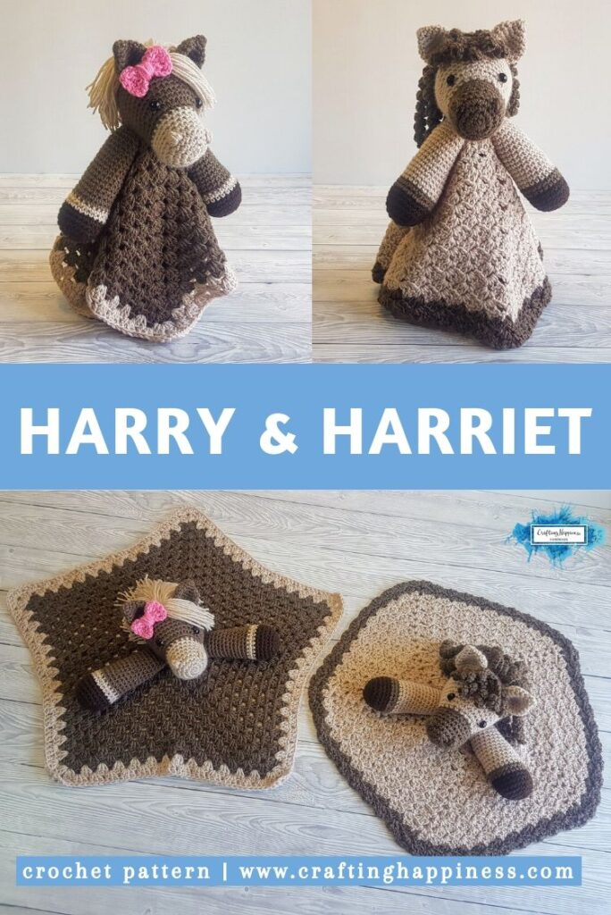 Harry & Harriet Baby Lovey by Crafting Happiness PINTEREST POSTER 5