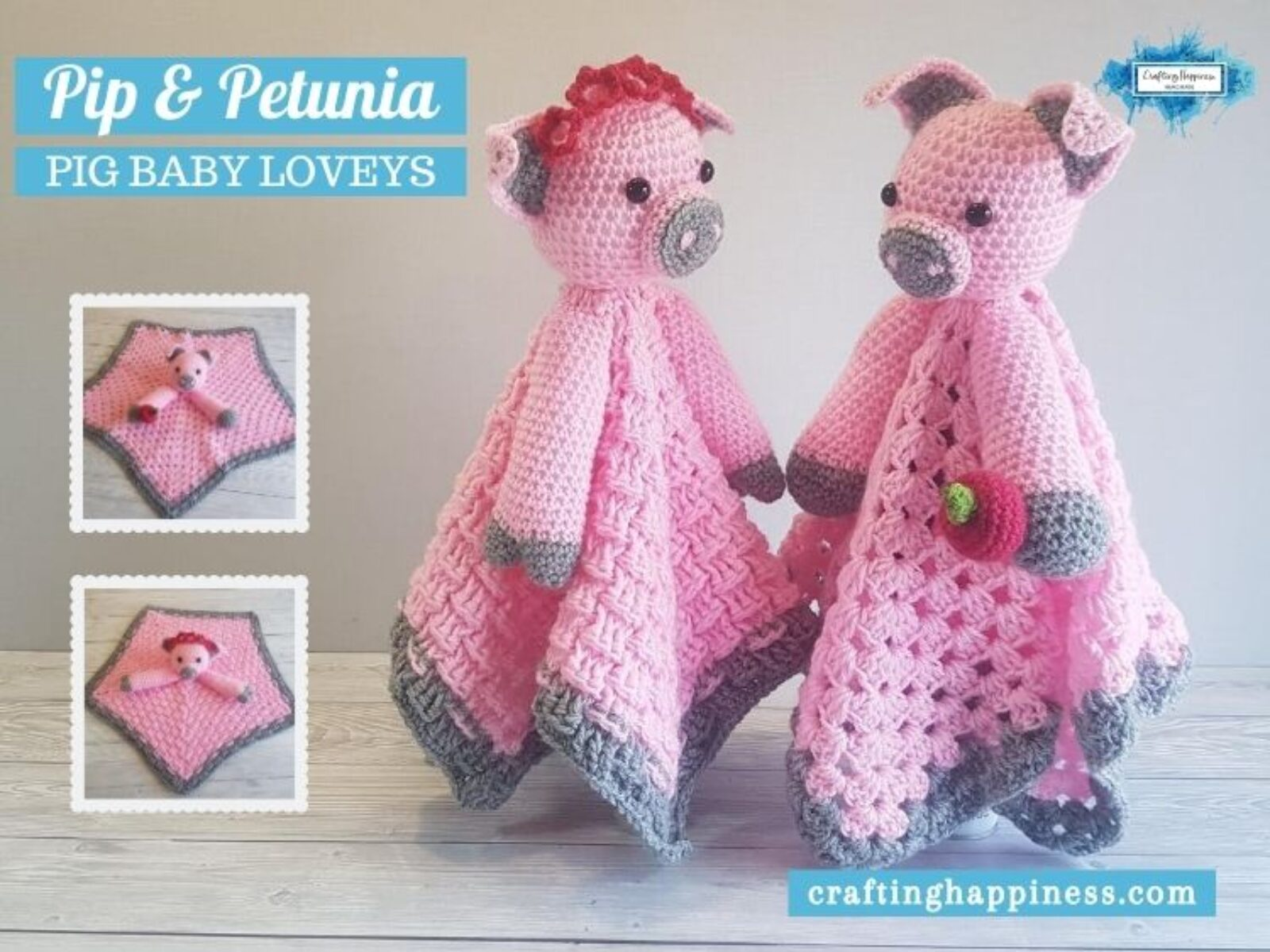Pip & Petunia Baby Lovey - FACEBOOK POSTER