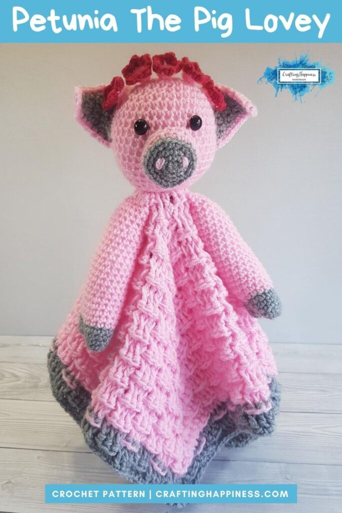 Pip & Petunia Baby Lovey by Crafting Happiness PINTEREST POSTER 4
