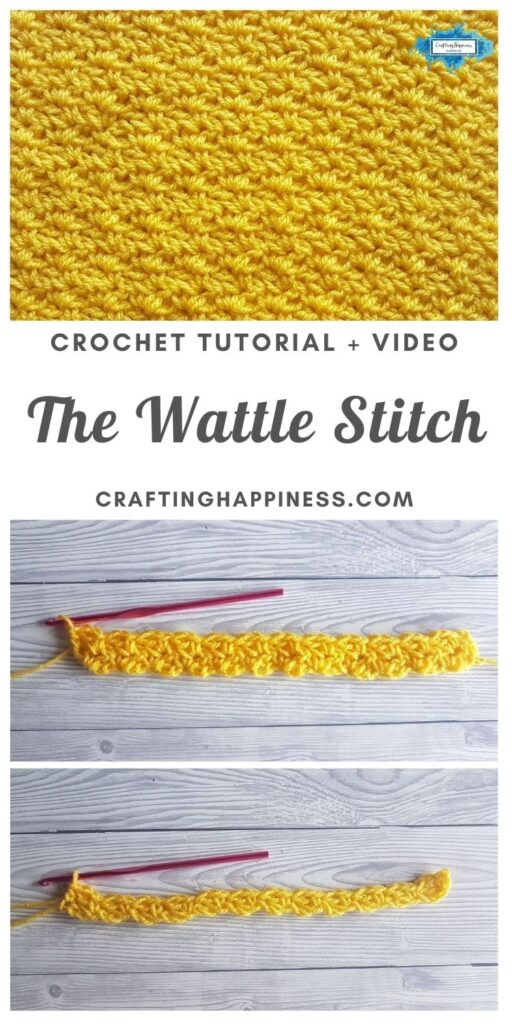 The Wattle Stitch by Crafting Happiness MAIN PINTEREST POSTER 1