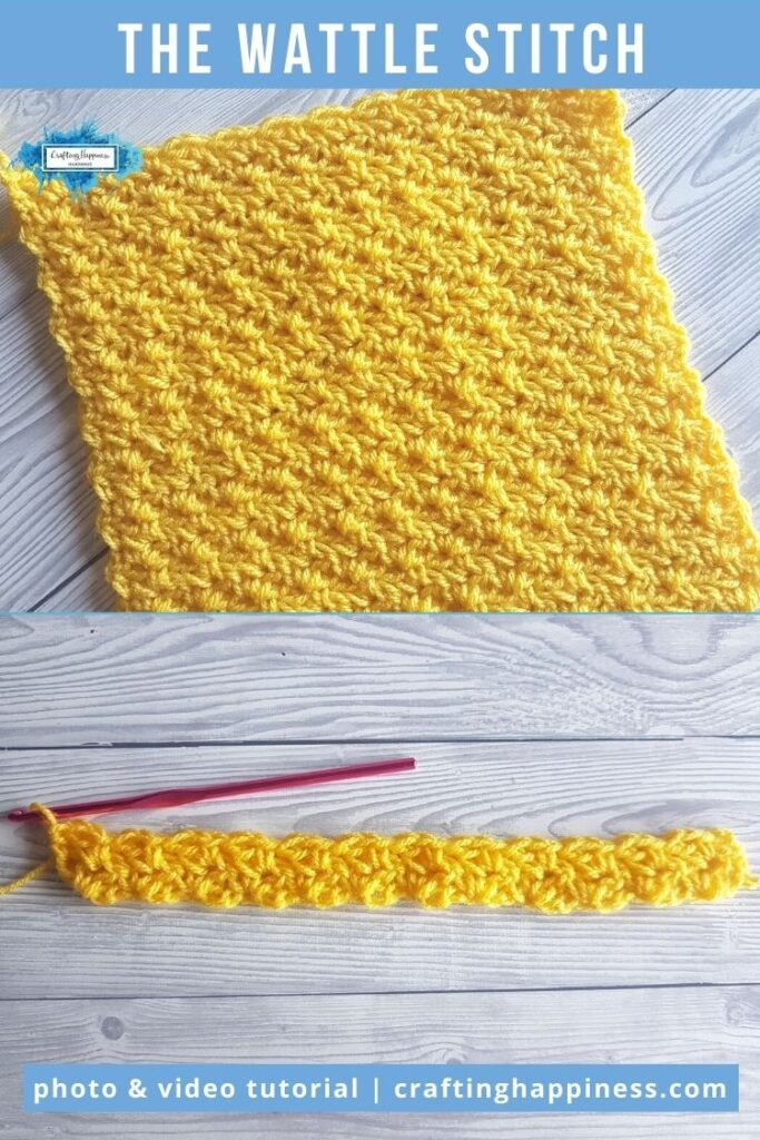 The Wattle Stitch by Crafting Happiness PINTEREST POSTER 6