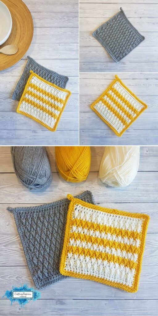 Alpine Stitch Pot Holders _ Crafting Happiness BLOG 2