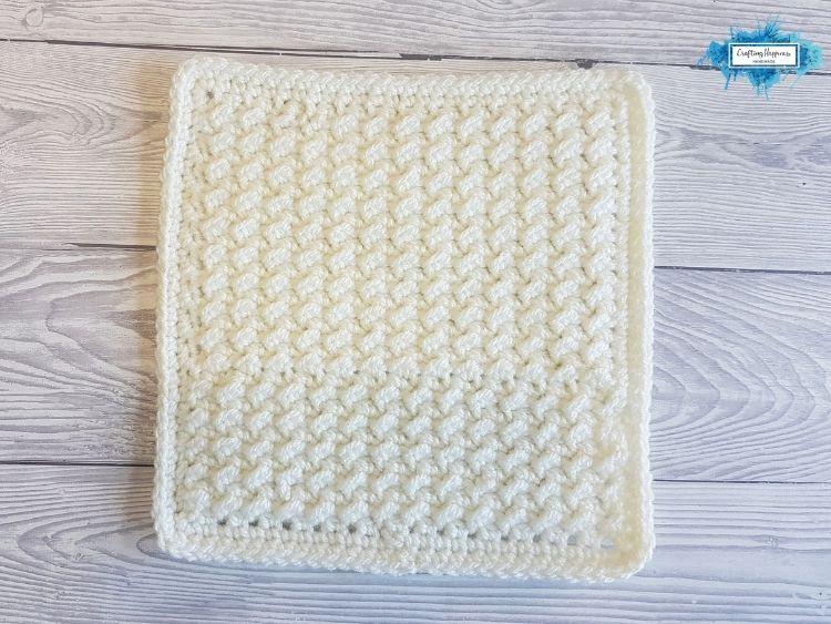 BLOG PHOTO 1 - Crunch Stitch Washcloths