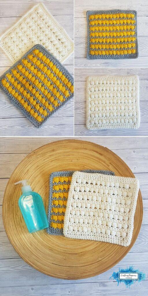 Bead Stitch Washcloths_ Crafting Happiness BLOG 2