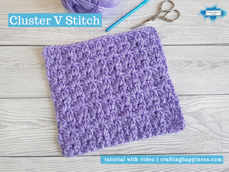 Cluster V Stitch by Crafting Happiness FACEBOOK POSTER