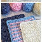 MAIN PIN - Crunch Stitch Washcloths