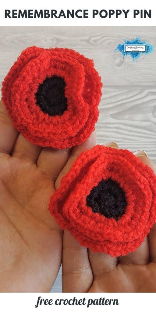BLOG POSTER PIN 1 - Poppy Flower Pin