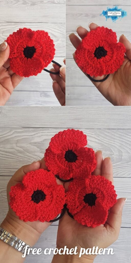BLOG POSTER PIN 2 - Poppy Hair Tie