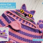 Cheshire Cat Hooded Blanket FACEBOOK BLOG POSTER