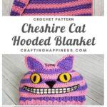 Cheshire Cat Hooded Blanket MAIN PINTEREST POSTER
