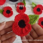 FB BLOG POSTER - Poppy Brooch Applique _ Crafting Happiness