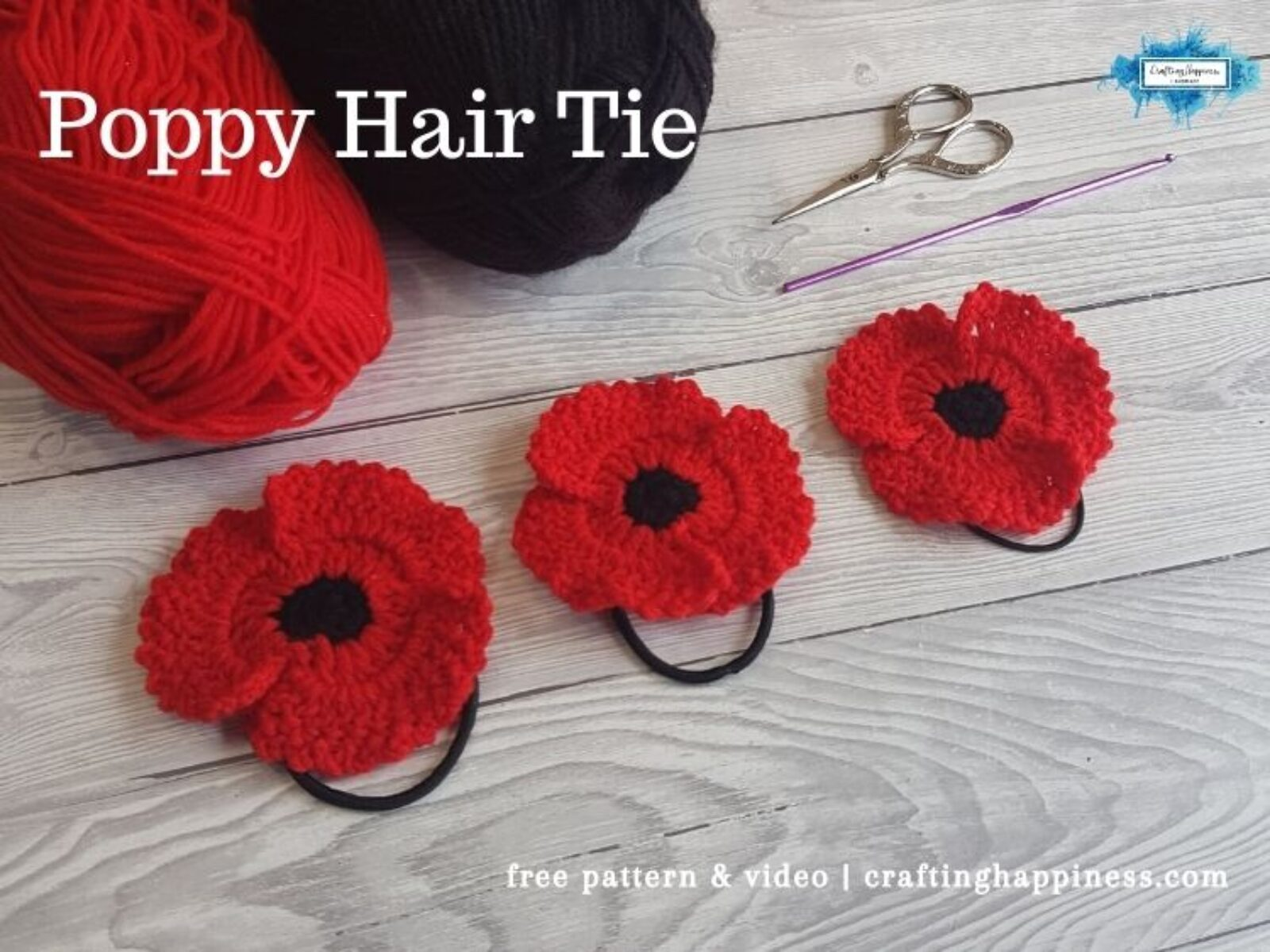FB BLOG POSTER - Poppy Hair Tie