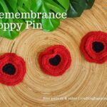 FB BLOG POSTER TEMPLATE - Remembrance Poppy Pin