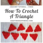 MAIN PIN BLOG POSTER - How To Crochet A Triangle