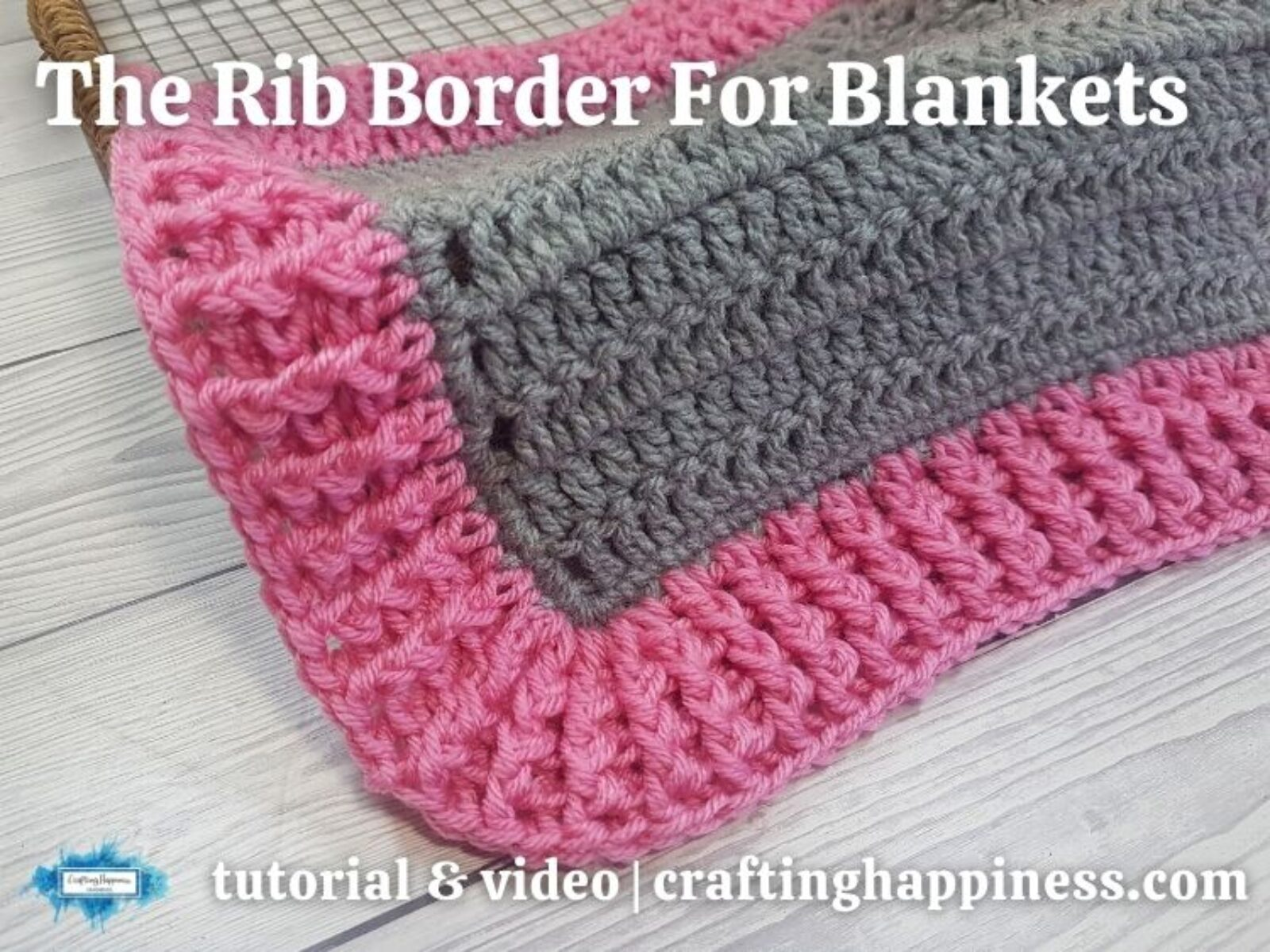 FB BLOG POSTER - Crochet Rib Border